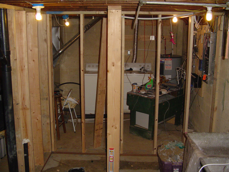 How to build bathroom in basement 28 images all sewer for Building a sauna in the basement